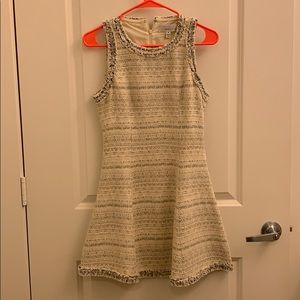 Cream woven dress